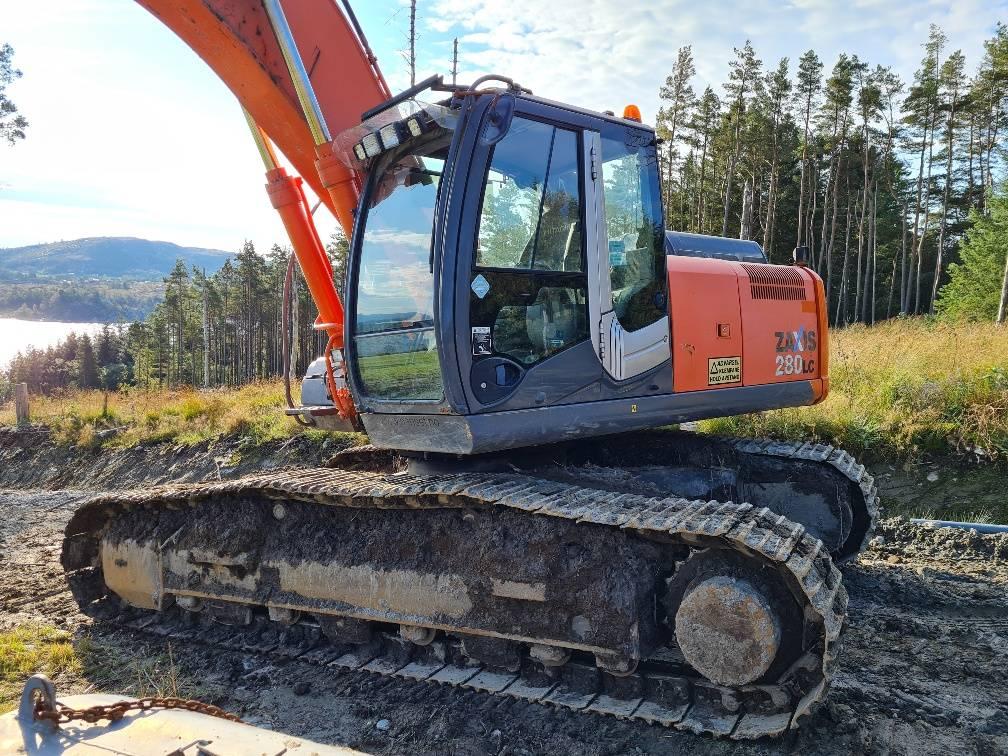 Hitachi ZX 280 LC-3, Crawler Excavators, Construction Equipment