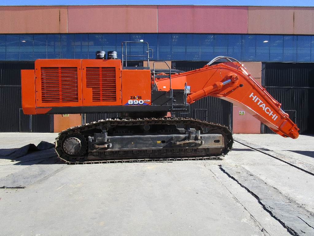 Hitachi ZX 890 LC H-6, Crawler Excavators, Construction Equipment