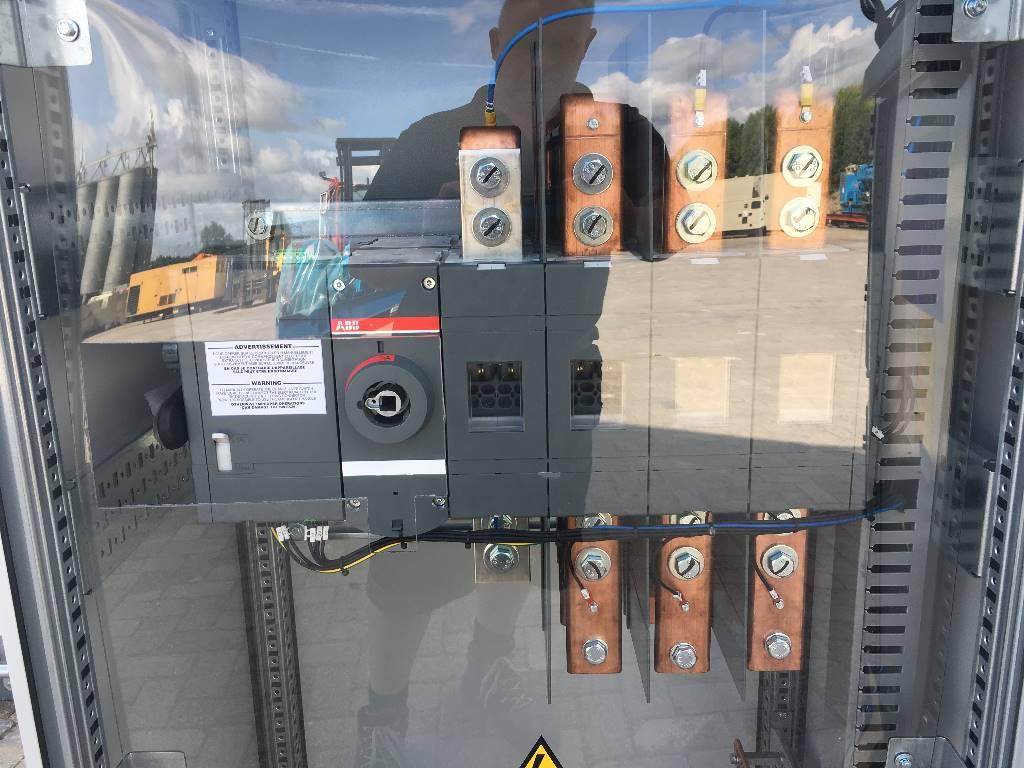 ATS Panel 1600A - Max 1.100 kVA - DPX-27511, Anders, Bouw
