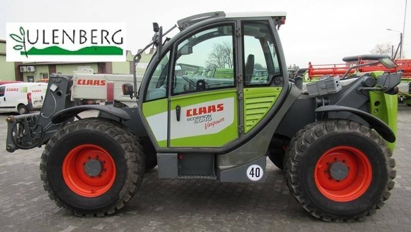 CLAAS Scorpion 9040, Ładowarki rolnicze, Maszyny rolnicze
