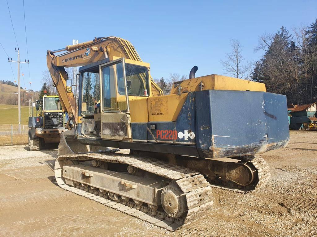 Komatsu PC220-3, Crawler Excavators, Construction Equipment