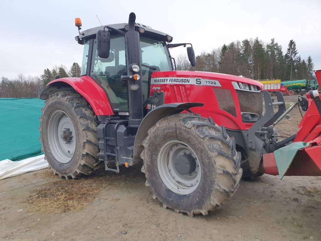 Massey Ferguson 7722 S Dyna-VT exclusive, Traktorer, Lantbruk