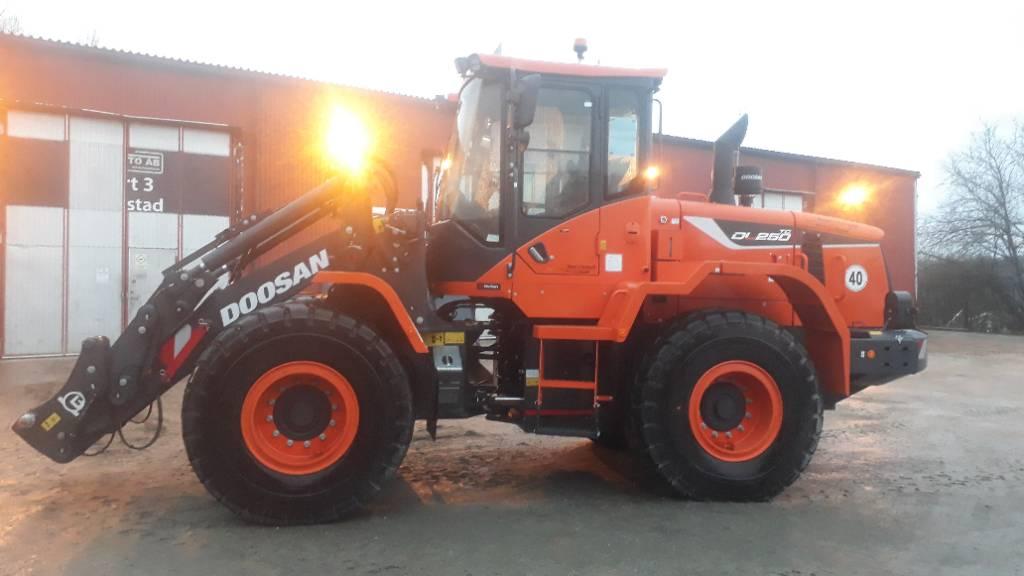 Doosan DL 250 TC-5 Lastare, SNÖUTRUSTAD, Uthyres, Hjullastare, Entreprenad