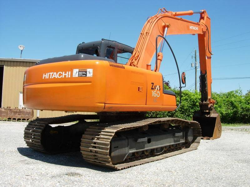 Hitachi ZX 160 LC, Crawler Excavators, Construction Equipment