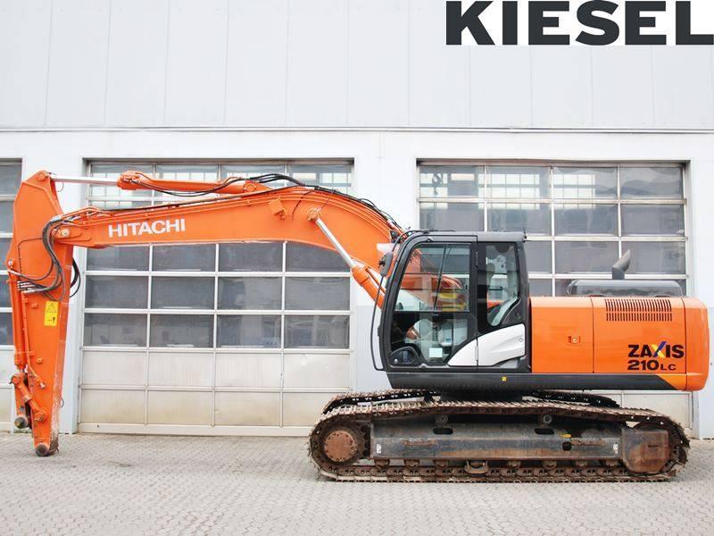 Hitachi ZX 210 LC-5, Crawler Excavators, Construction Equipment