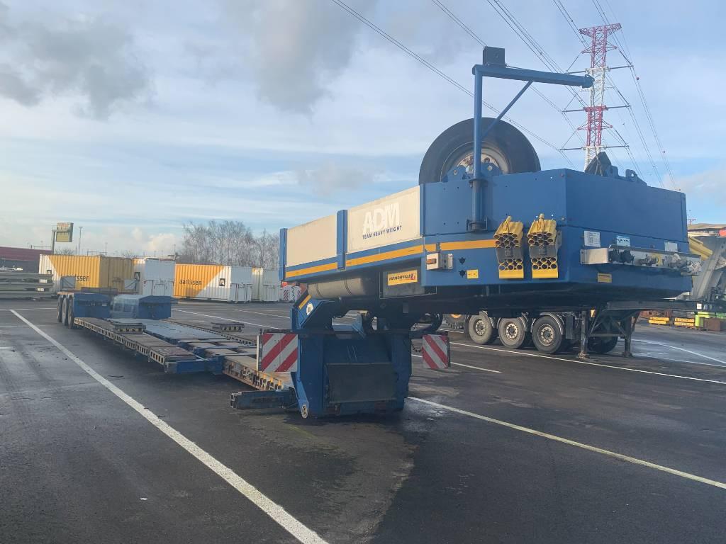 Faymonville Mega Z-3H-VA, Low loader-semi-trailers, Transportation