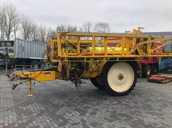 Dubex Vector 9771, Getrokken spuitmachines, Landbouw