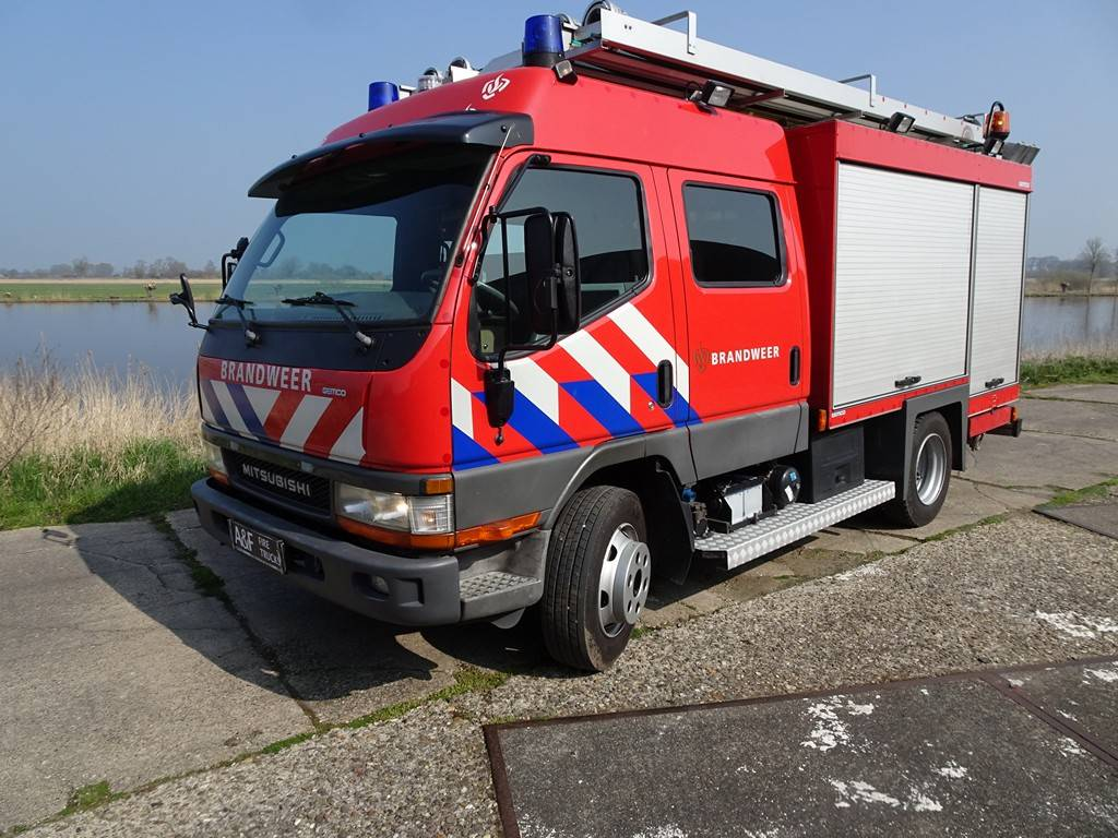 Mitsubishi FE 659 Canter Gemco, Fire trucks, Transportation