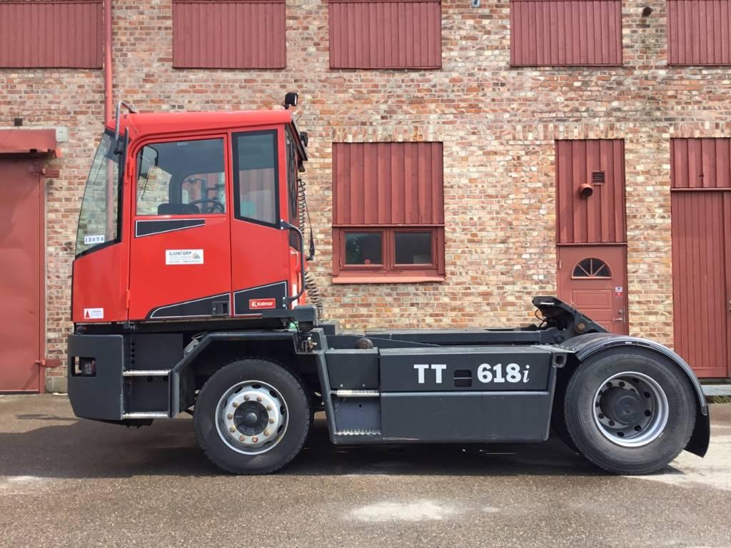 Kalmar TT 618 i, Terminaltraktorer, Materialhantering