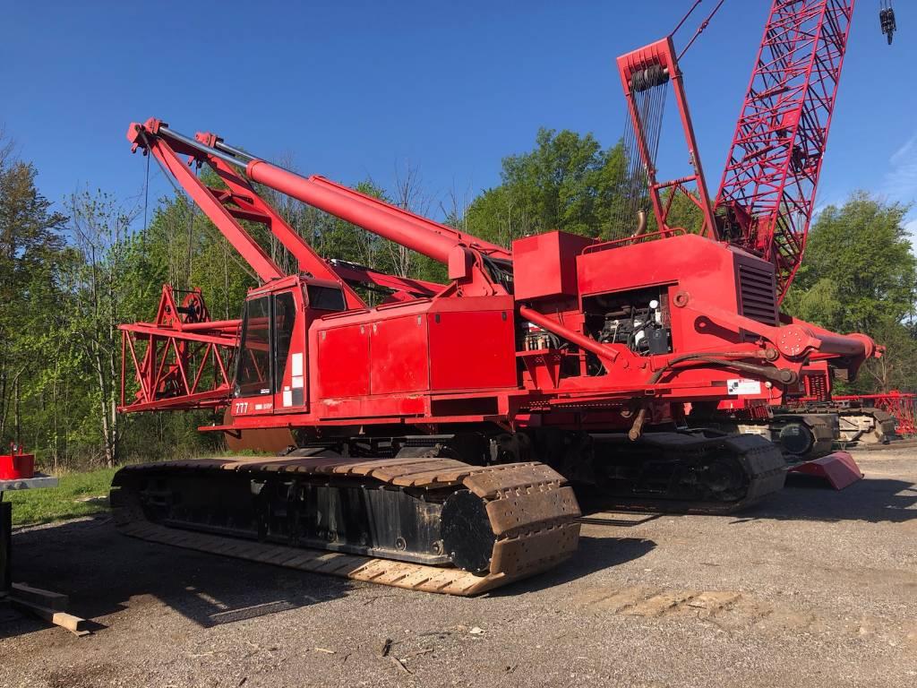 Manitowoc 777 S 2, Tower Cranes, Construction Equipment
