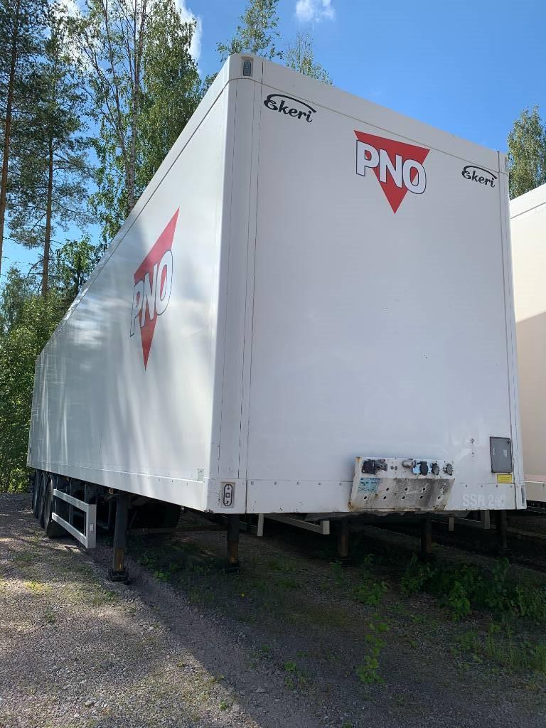 Ekeri PPV 2013 eurooppa mitat SSR 241 av 8,15m, Box body semi-trailers, Transportation