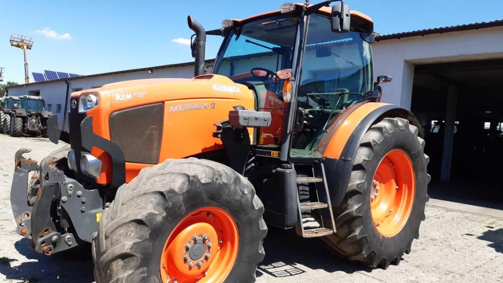 Kubota M 135 GX, Traktory, Maszyny rolnicze