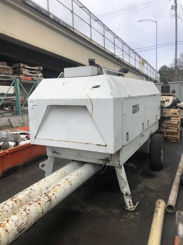 Putzmeister BSA 2110, Line Pumps, Construction Equipment