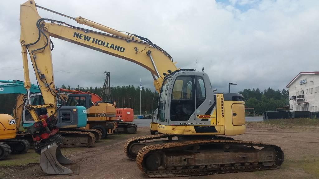 New Holland E 235 B SR LC, Telakaivukoneet, Maarakennus