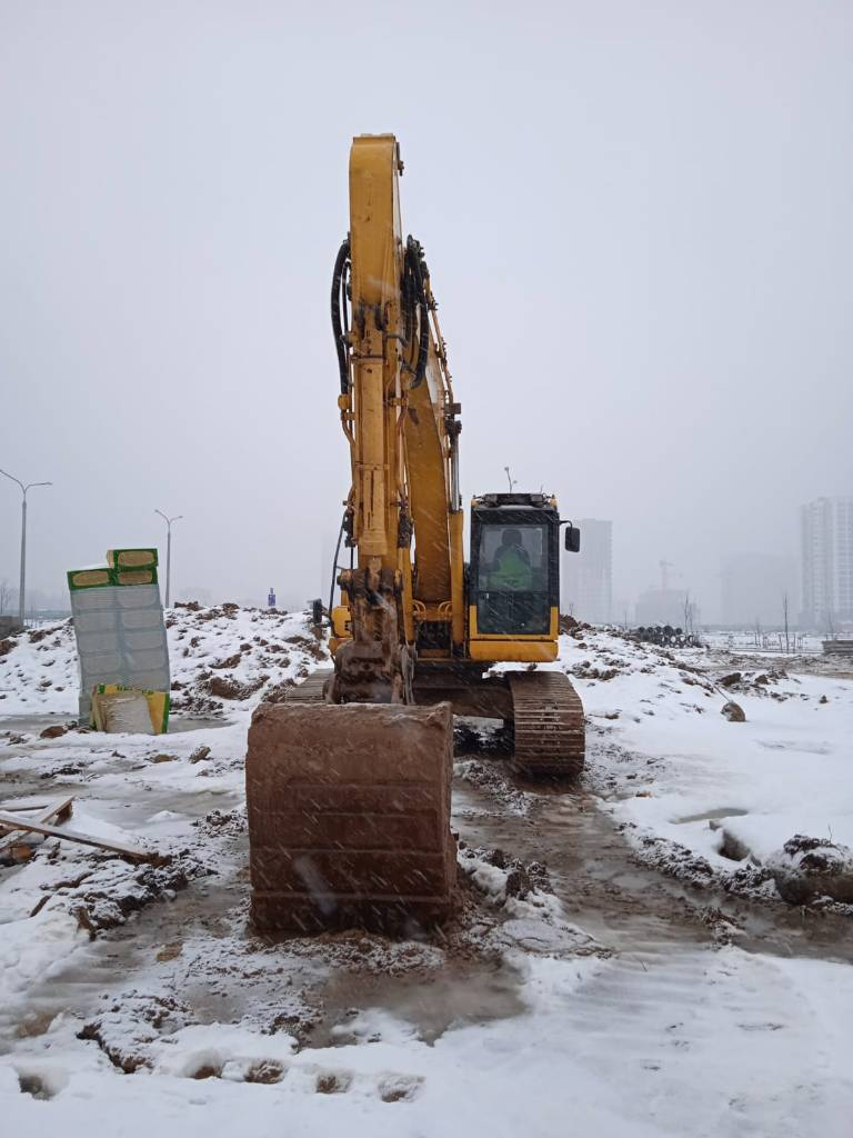 Komatsu HB215LC-1, Crawler Excavators, Construction Equipment