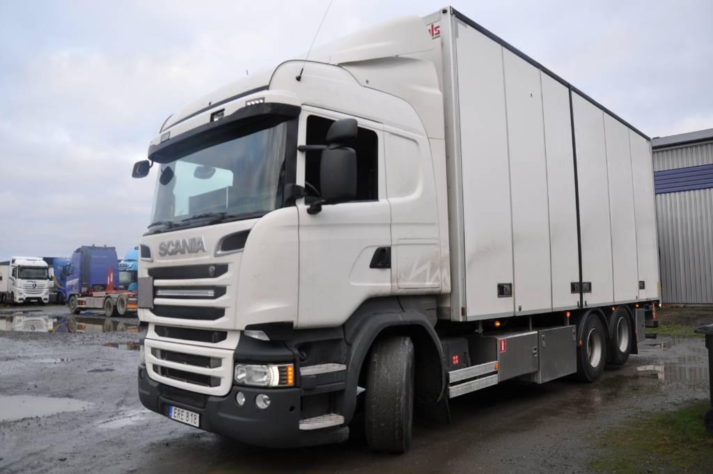 Scania R580 LB6X2MNB, Skåpbilar, Transportfordon