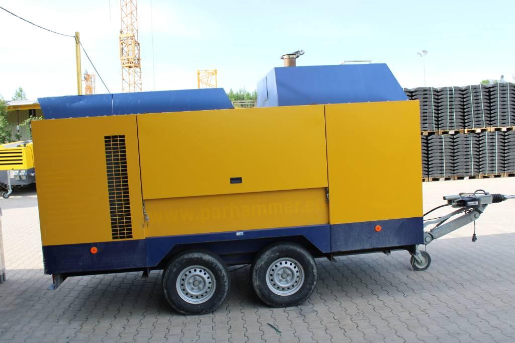 Compair C210-TS21, Kompressoren, Baumaschinen