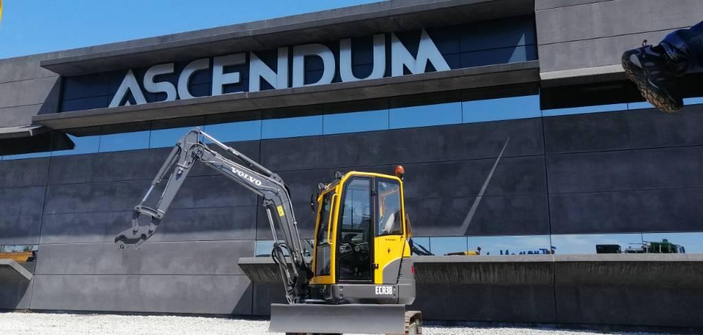Volvo ECR 38, Mini Excavators <7t (Mini Diggers), Construction Equipment
