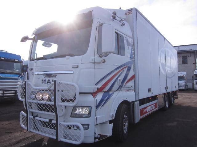 MAN TGX26.480, Furgoonautod, Transport