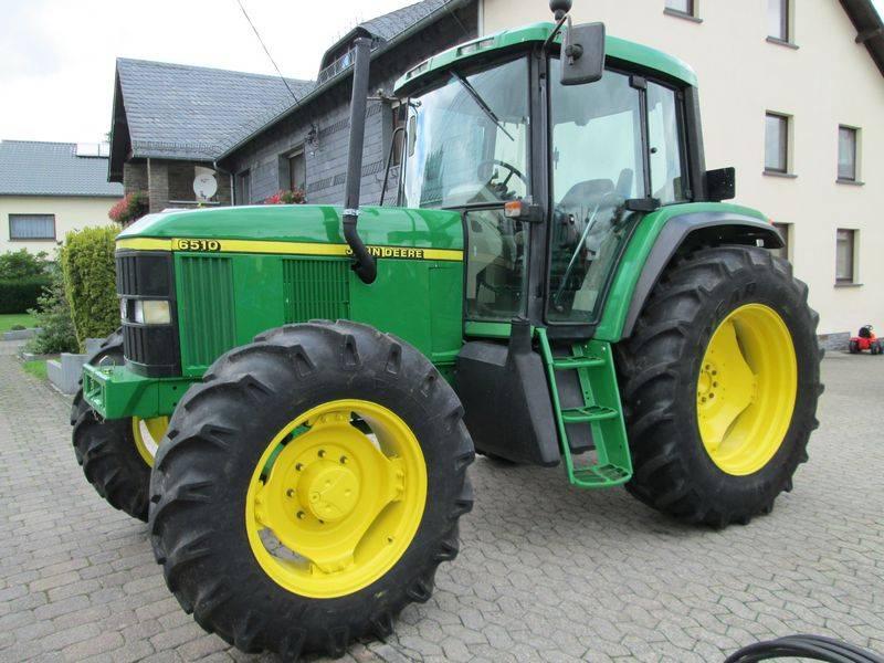 used john deere 6510 power quad tractors year 2001 for. Black Bedroom Furniture Sets. Home Design Ideas