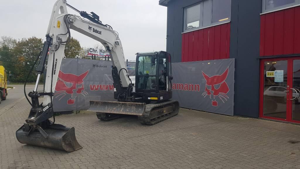 Bobcat E 85, Mini excavators  7t - 12t, Construction Equipment