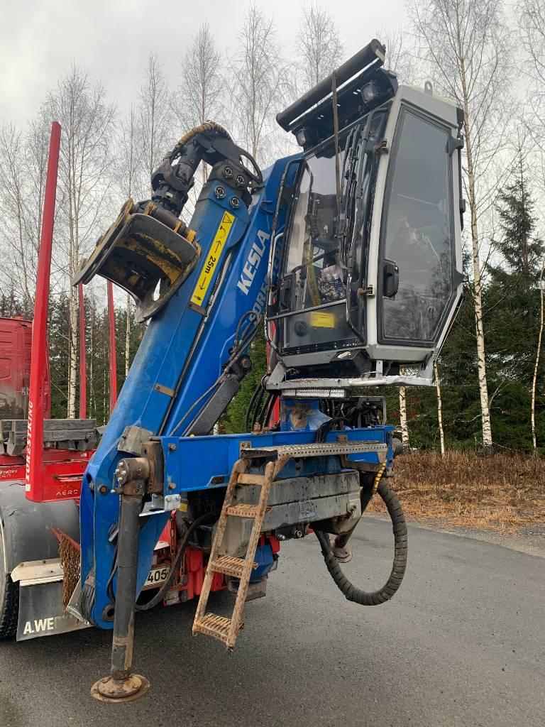 Kesla 2112Z TH, Timber cranes, Transportation