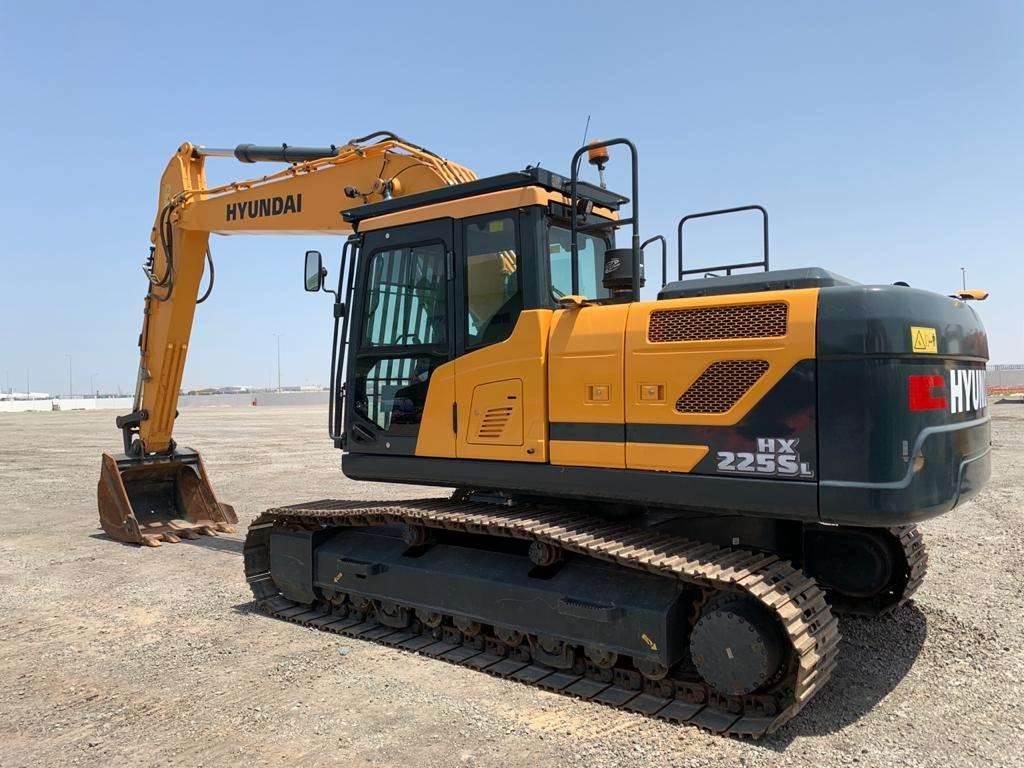 Hyundai HX220SL, Crawler Excavators, Construction
