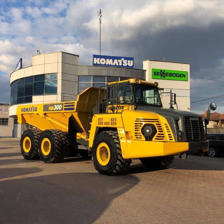 Komatsu HM300-5, Articulated dump trucks, Construction Equipment