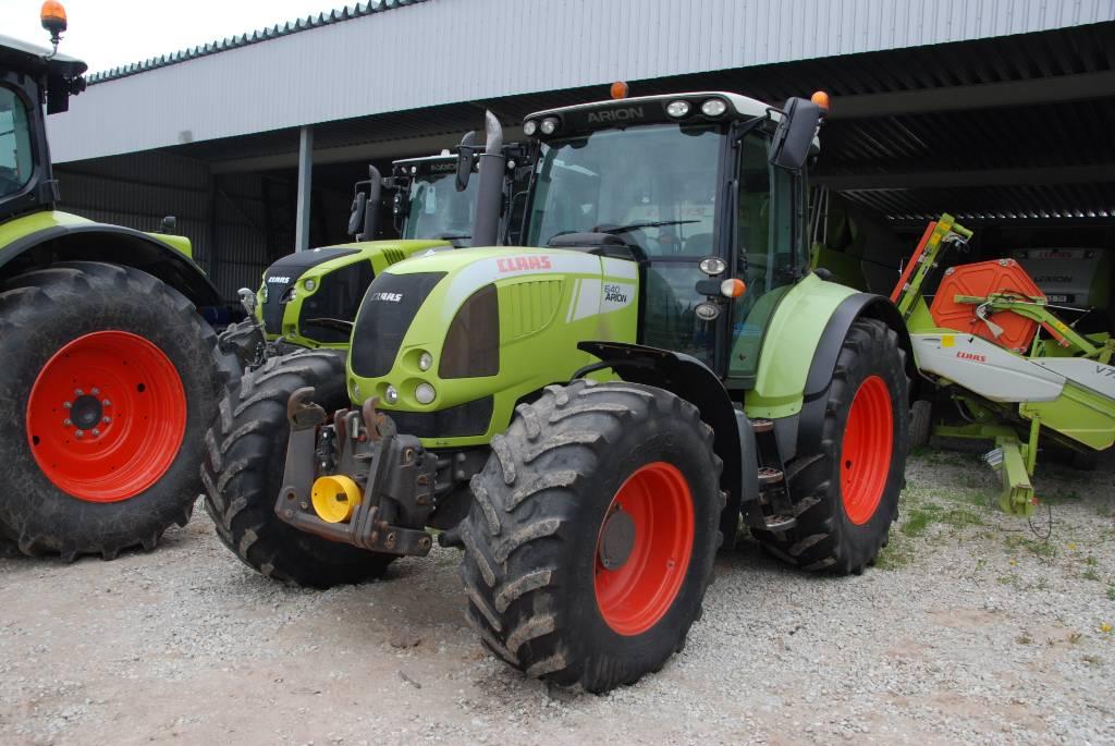 CLAAS Arion 640 CIS, Traktoriai, Žemės ūkis