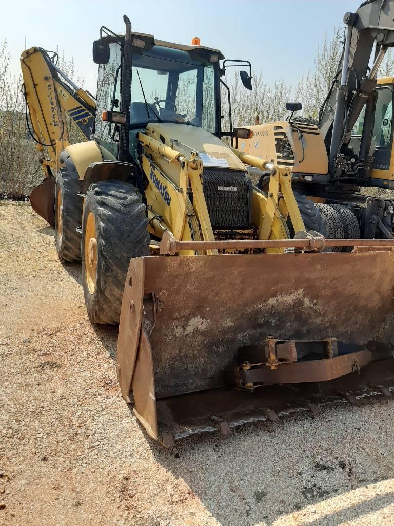 Komatsu WB97S, Backhoe Loaders, Construction Equipment