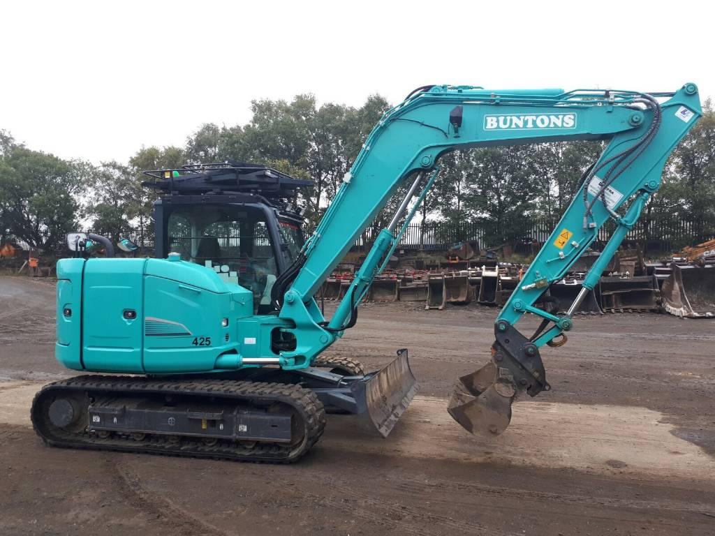 Kobelco SK85MSR-3E, Crawler excavators, Construction