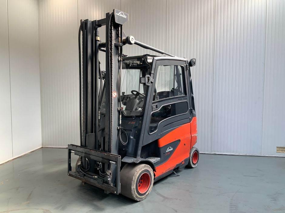 Linde E35 HL 387 Serie, Electric Forklifts, Material Handling