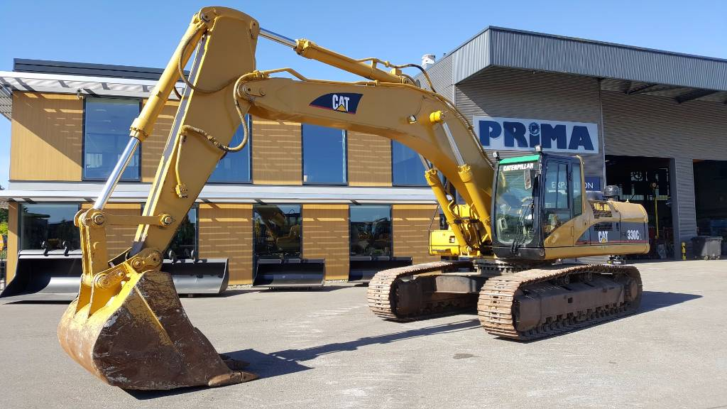 Caterpillar 330 C L, Crawler Excavators, Construction Equipment
