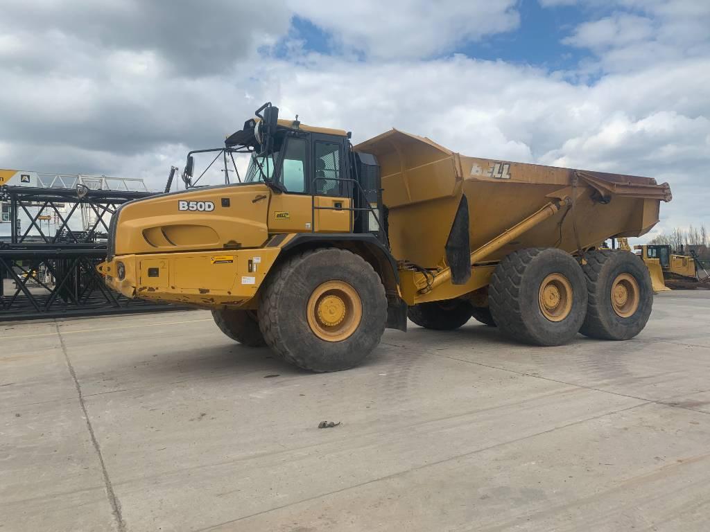 Bell B 50 D, Articulated Dump Trucks (ADTs), Construction
