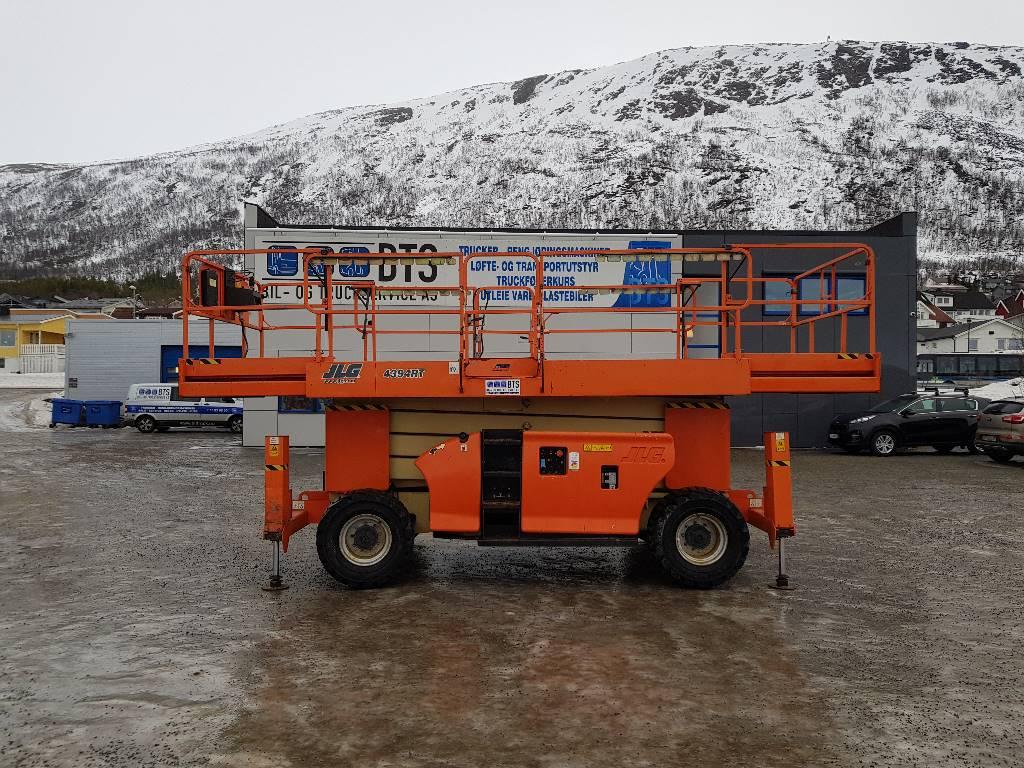 JLG 4394 RT terrenggående sakselift (PÅ LAGER), Sakselifter, Anlegg