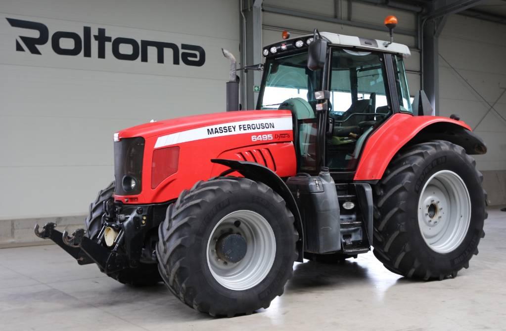 Massey Ferguson 6495 Dyna 6, Traktory, Maszyny rolnicze