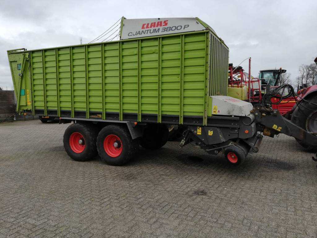 CLAAS quantum3800P OPRAAPWAGEN, Speciality Trailers, Agriculture