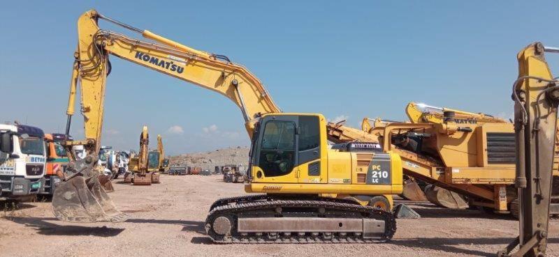 Komatsu PC210LC-8, Escavatori cingolati, Costruzioni