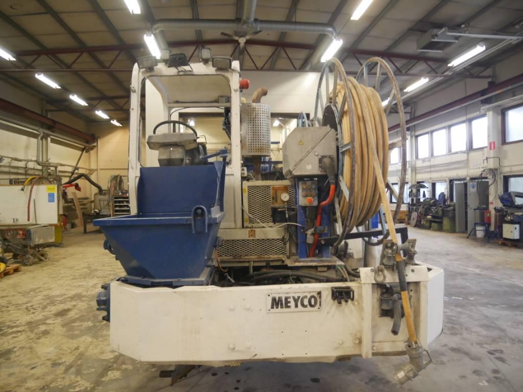 Meyco Potenza Maxima, Övrig gruvutrustning, Entreprenad