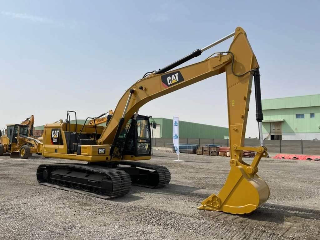 Caterpillar 320, Crawler Excavators, Construction