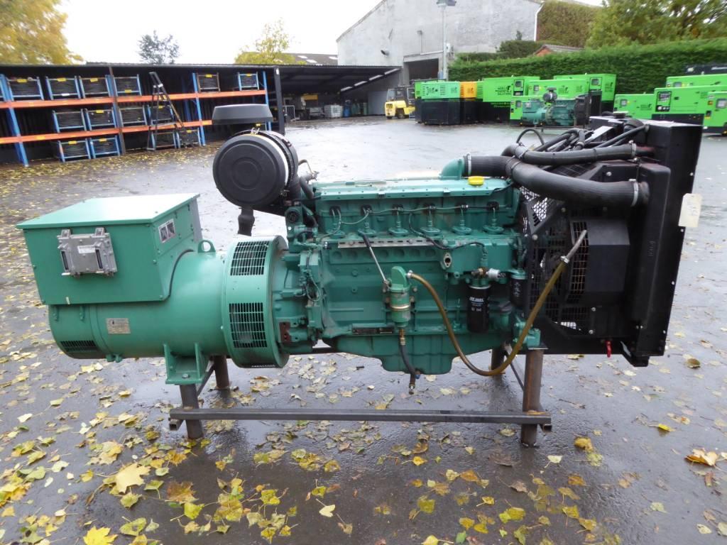 Volvo Penta 150 KVA, Diesel generatoren, Bouw