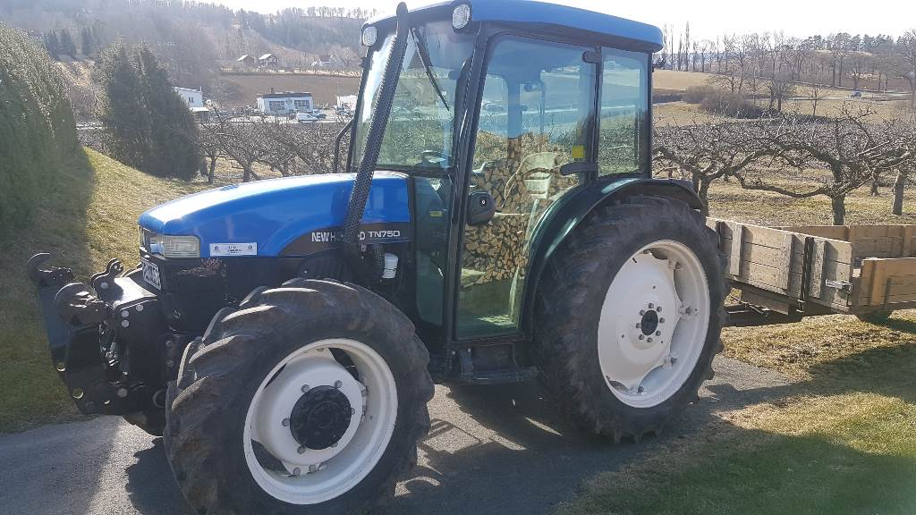 New Holland TN 75 D, Traktorer, Lantbruk