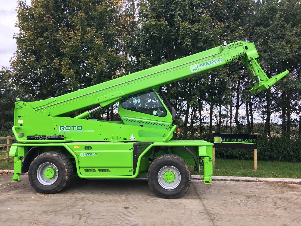 Merlo Roto 60.24 MCSS, Telescopic handlers, Construction