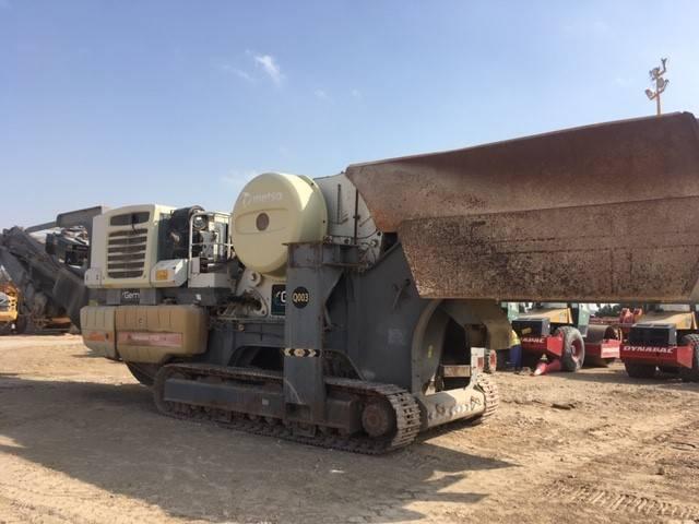 Metso Lokotrack LT 120, Crushers, Construction