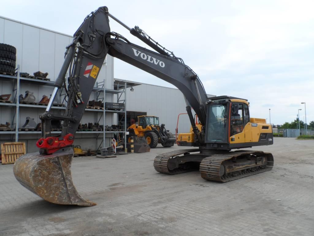 Volvo EC 250 D N L, Crawler Excavators, Construction Equipment