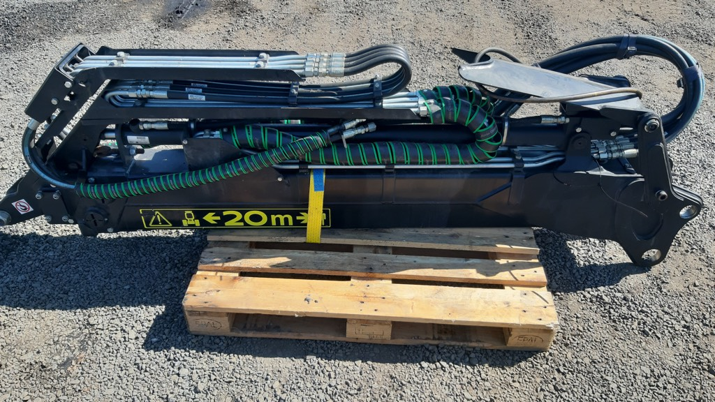 John Deere Jib Boom CF785 IBC, Výložníky a lžíce, Lesní technika