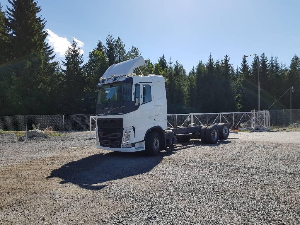 Volvo FH460 6x2, Kuorma-autoalustat, Kuljetuskalusto
