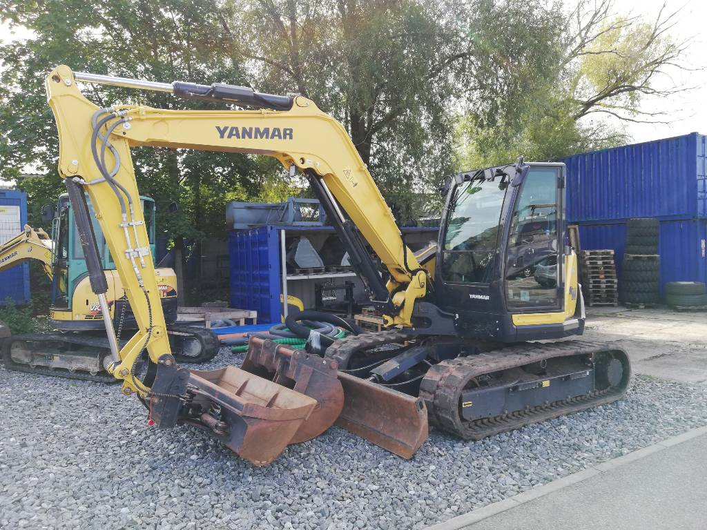 Yanmar SV100-2A, Midi excavators  7t - 12t, Construction