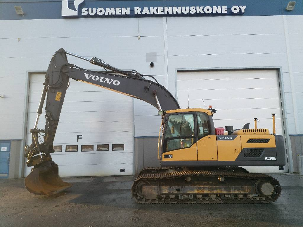 Volvo EC 220 DL, Crawler Excavators, Construction Equipment