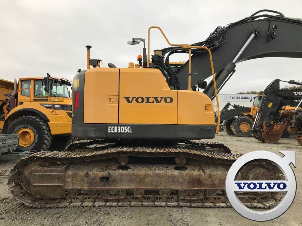 Volvo ECR305CL (sjelden vare), Crawler Excavators, Construction Equipment